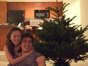 before we deco the tree!